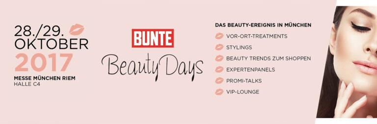BUNTE Beauty Days München