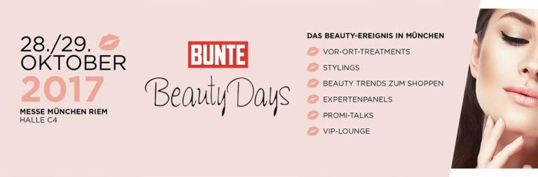 BUNTE Beauty Days