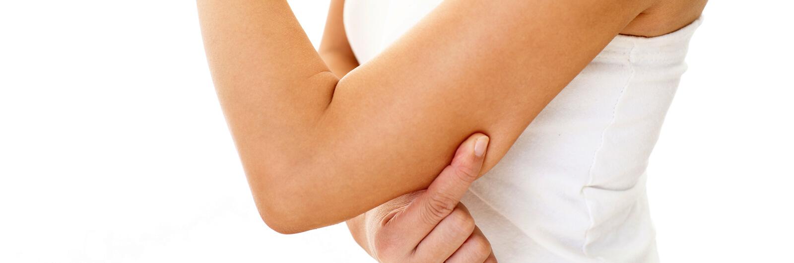 Подтяжка кожи в плечевой области